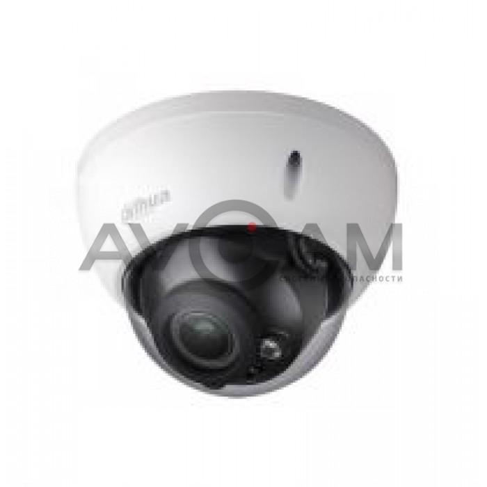 Купольная мультиформатная HD видеокамера RVI-1ACD202M (2.7-12) WHITE