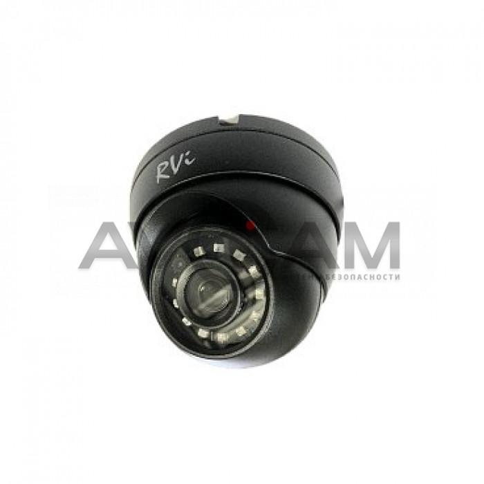 Купольная IP видеокамера  RVi-1NCE2020 (2.8) black