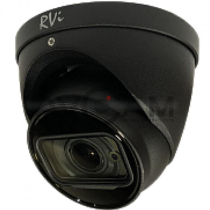 Купольная мультиформатная HD видеокамера RVI-1ACE202MA (2.7-12) black
