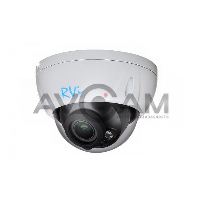 Купольная IP видеокамера RVi-1NCD4069 (2.7-12) white