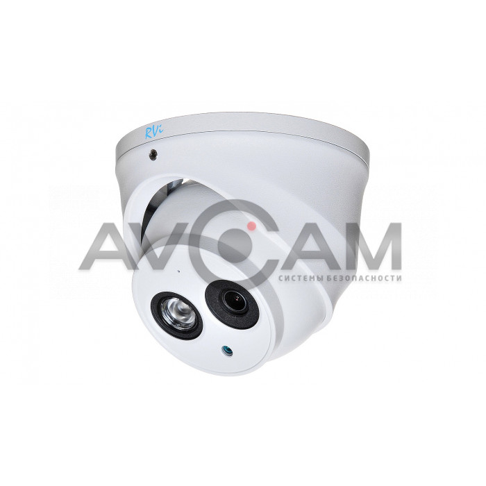Купольная мультиформатная HD видеокамера RVI-1ACE102A WHITE