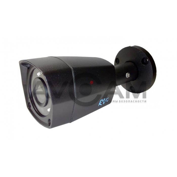Уличная мультиформатная видеокамера  RVi-HDC421 (2.8) (black)
