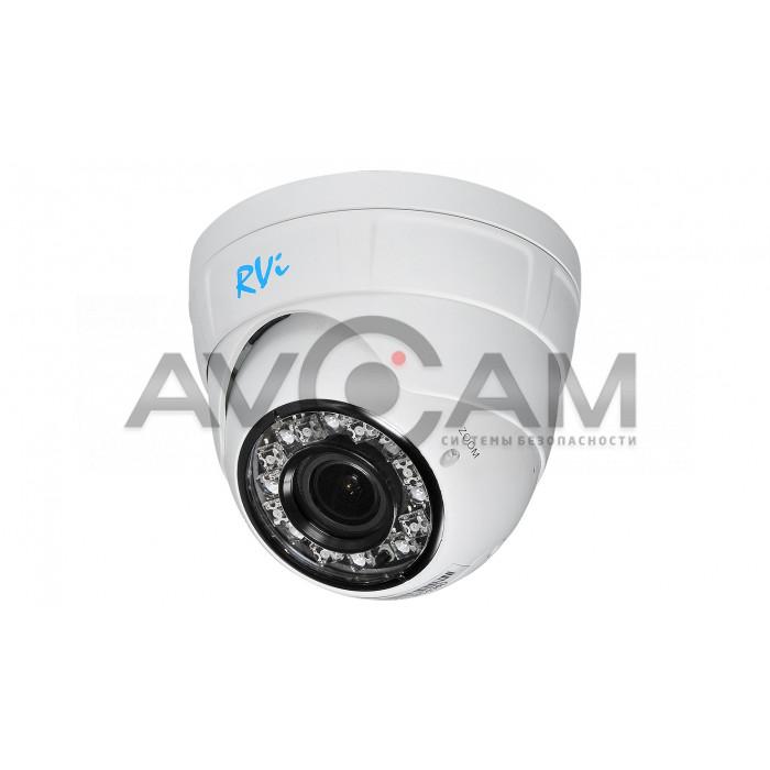 IP видеокамера антивандальная с ИК подсветкой RVi-IPC34VB (2.8)