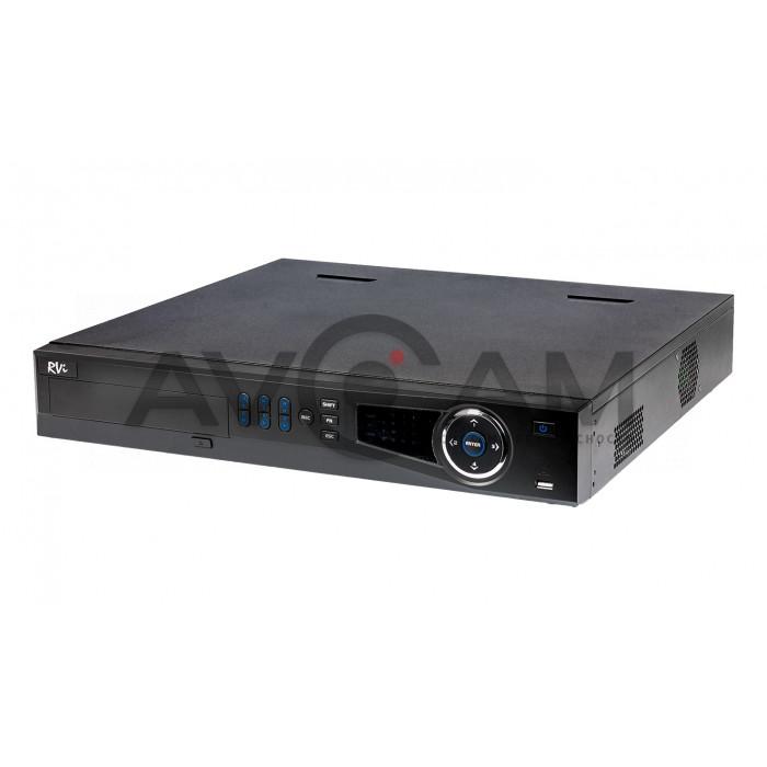 Сетевой 16-канальный Видеорегистратор RVI-IPN16/4-4K V.2
