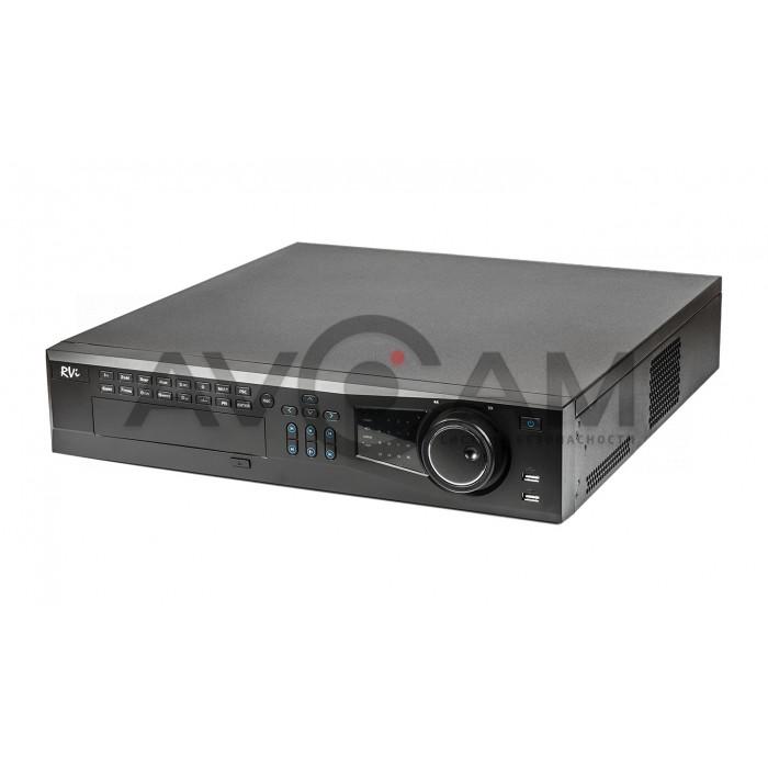 Сетевой 16-канальный Видеорегистратор RVi-IPN16/8-4K V.2