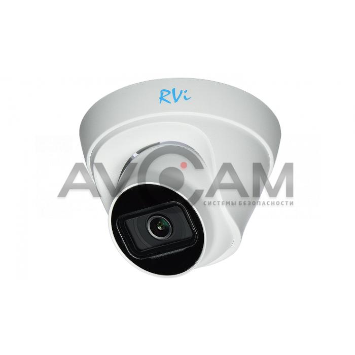 Купольная IP видеокамера  RVi-1NCE2120-P (2.8) white