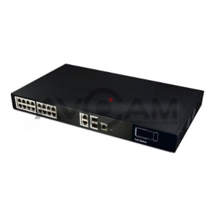 Сетевой POE коммутатор 20 портовый RVi-NS1604M