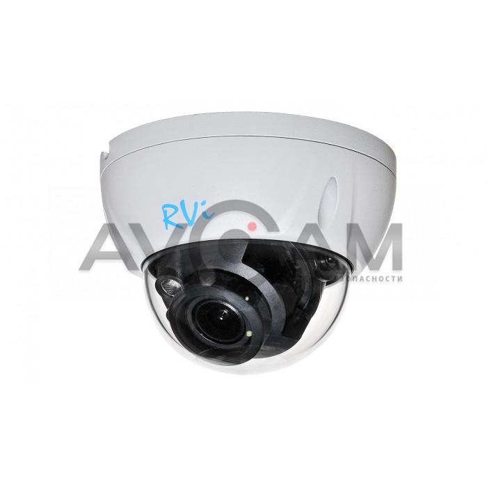 Антивандальная  IP видеокамера RVi-IPC34VL (2.7-13.5)