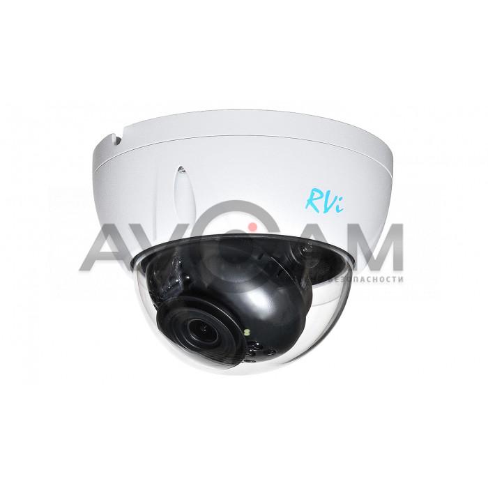 Купольная антивандальная  IP видеокамера RVI-IPC33VS (2.8)