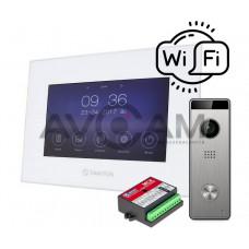 Комплект видеодомофона Tantos Marilyn HD + вызывная панель Triniti HD + Блок сопряжения Даксис МСК