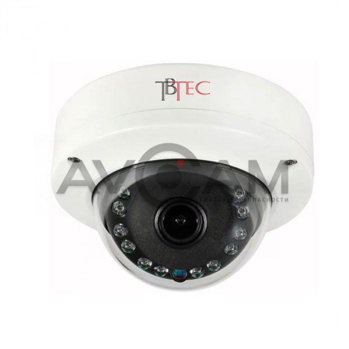 Купольная IP видеокамера TBC-i2251IR