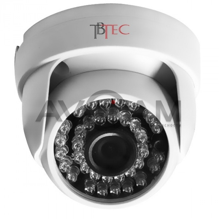 Купольная AHD видеокамера TBC-A2271HD