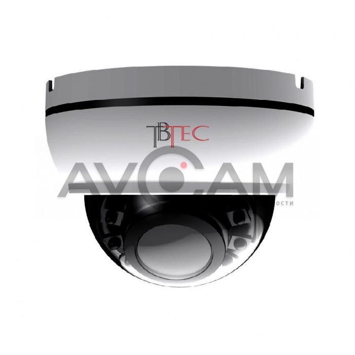 Купольная AHD видеокамера TBC-A2475HD