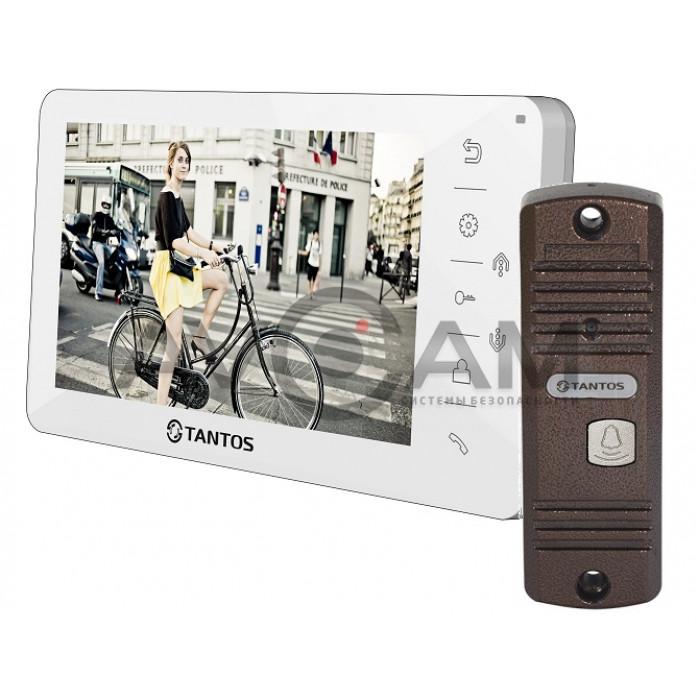 Видеодомофон Tantos Amelie комплект с вызывной панелью