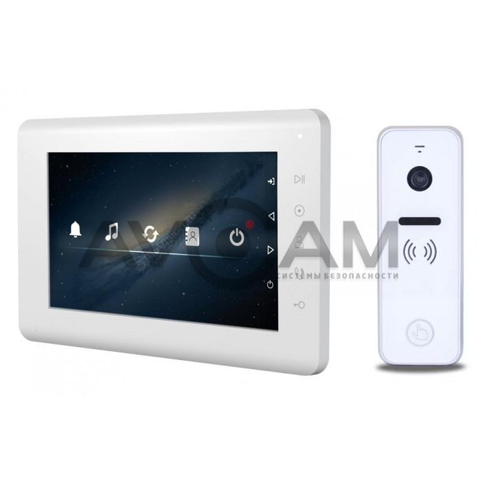 Видеодомофон Tantos MIA комплект с вызывной панелью на 110 градусов