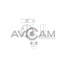 Монтажная коробка RVI-1BMB-4 White