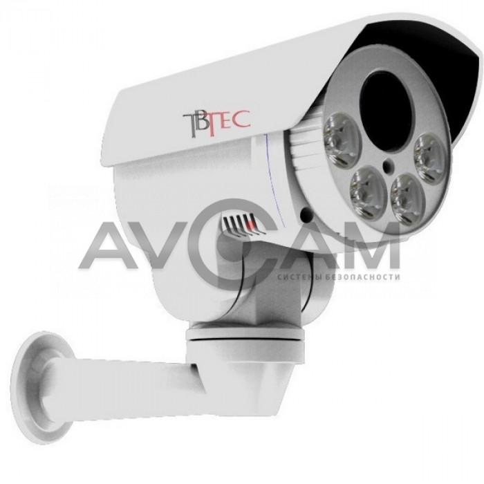 Уличная поворотная AHD видеокамера TBTEC TBC-A5481HD