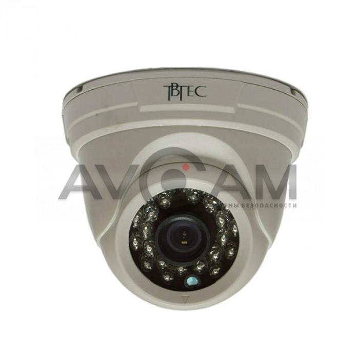 Купольная видеокамера TBTEC TBC-A2372IR