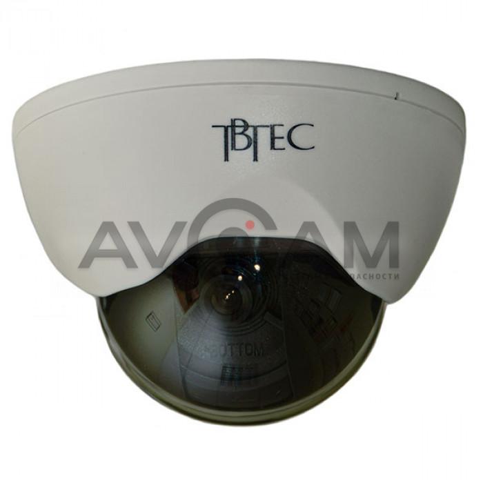 Купольная видеокамера TBTEC TBC-A2373