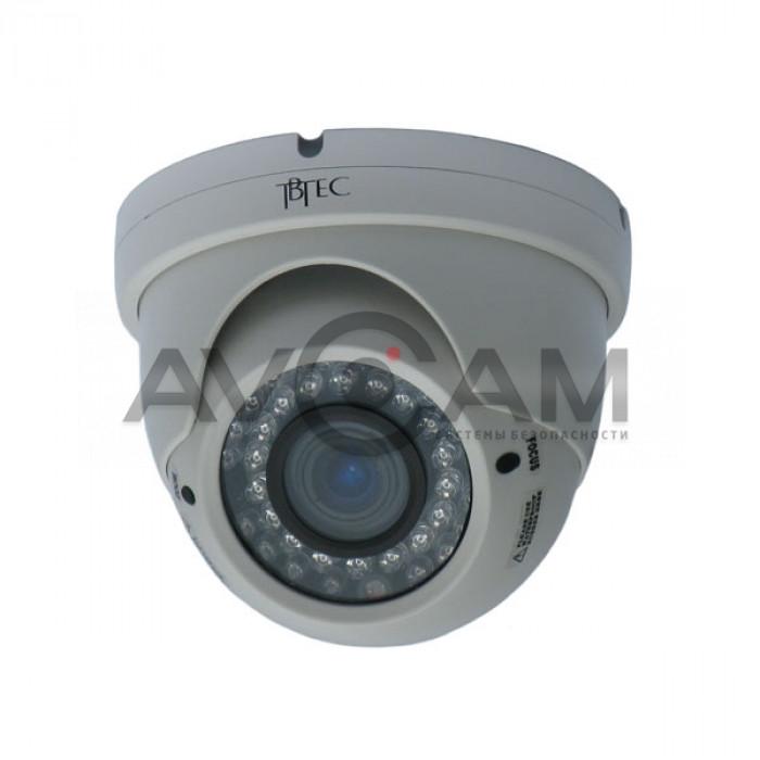 Купольная видеокамера TBTEC TBC-A3485IR