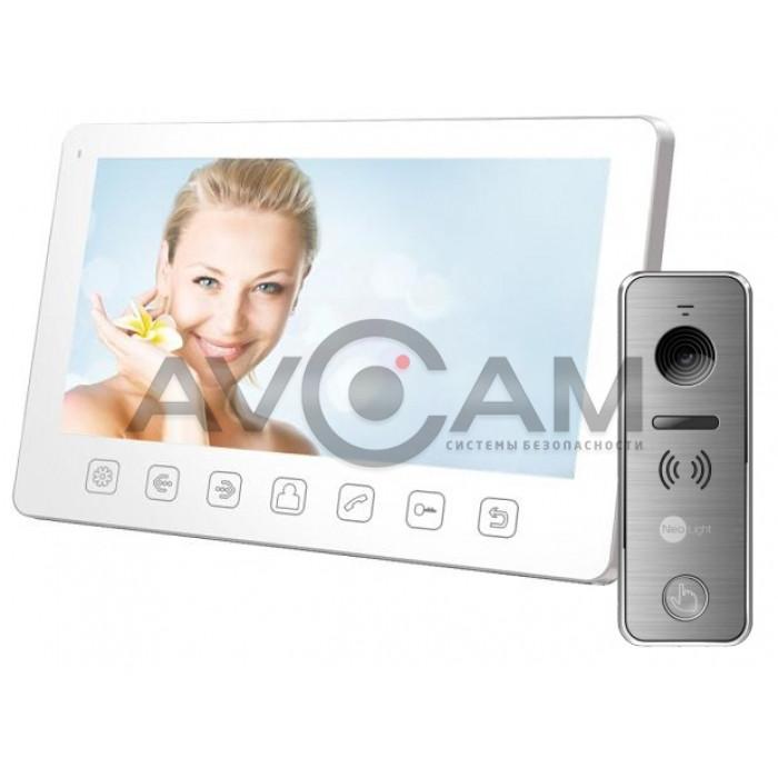 Видеодомофон Tantos Amelie Slim комплект с вызывной металлической панелью