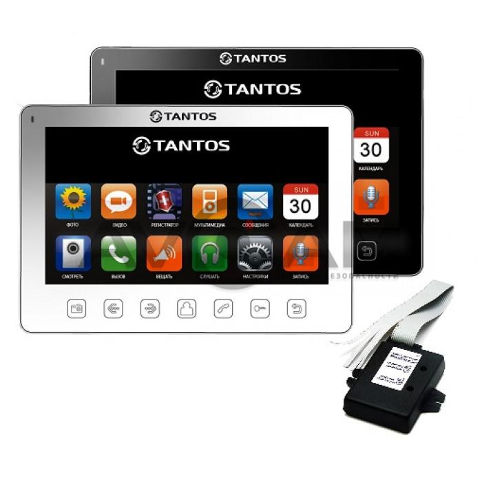 Комплект видеодомофона Tantos Prime Slim + Vizit