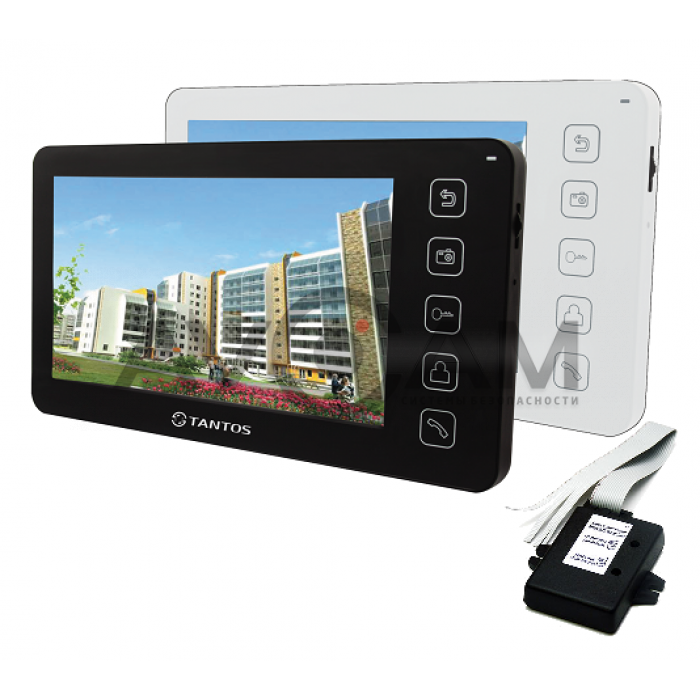 Комплект видеодомофона Tantos Prime + Vizit