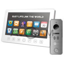 Видеодомофон Tantos Prime Slim комплект с вызывной металлической панелью
