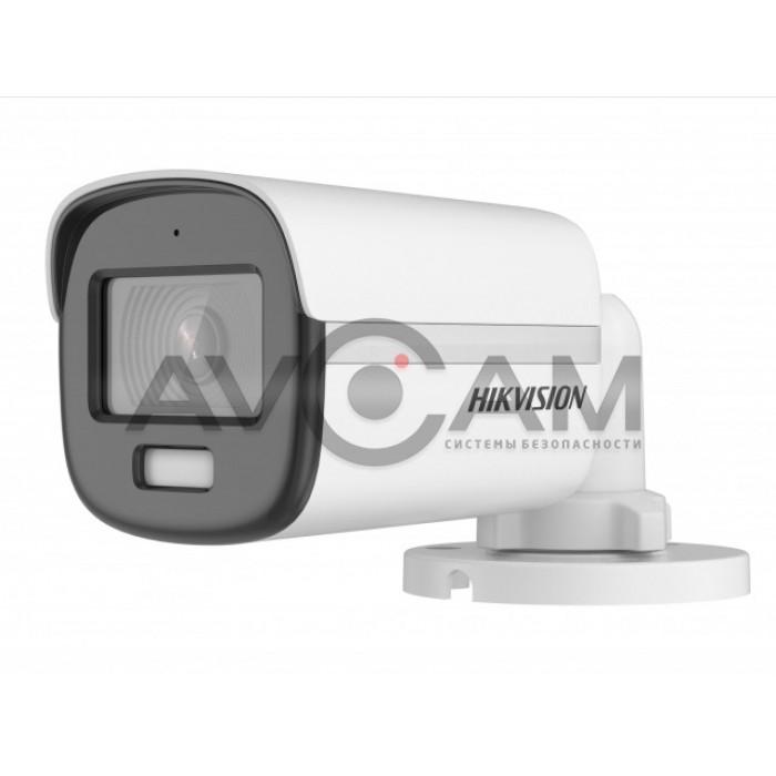 Уличная компактная HD-TVI видеокамера с LED подсветкой  Hikvision DS-2CE10DF3T-FS