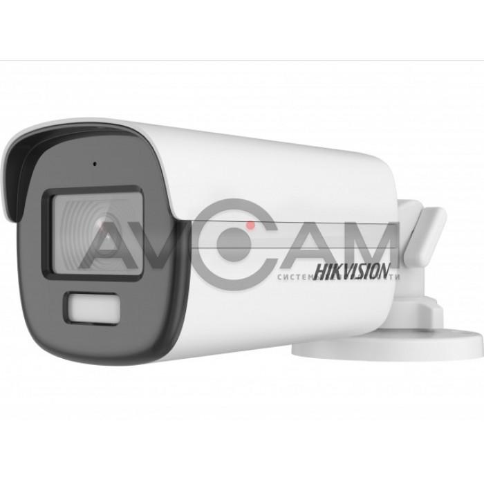 Уличная компактная HD-TVI видеокамера с LED подсветкой  Hikvision DS-2CE12DF3T-FS