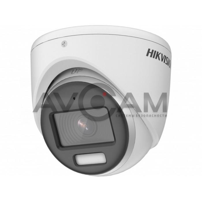 Купольная уличная HD-TVI видеокамер с LED подсветкой  Hikvision DS-2CE70DF3T-MFS