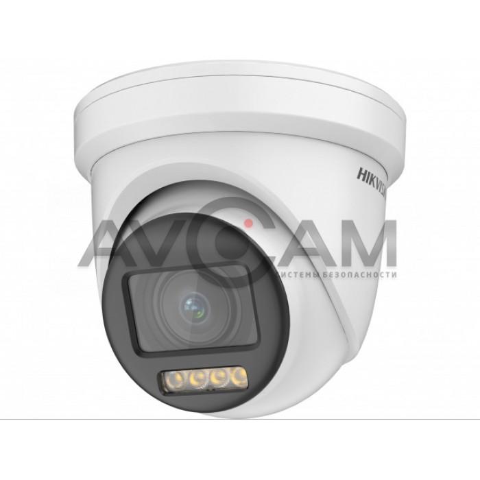 Купольная HD-TVI видеокамера с моторизованным вариообъективом  Hikvision DS-2CE79DF8T-AZE (2.8-12)