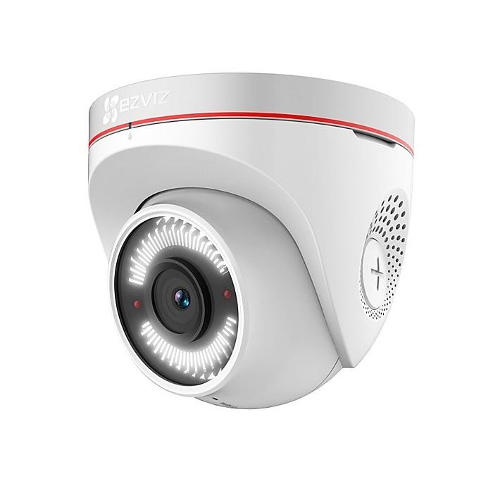 Внешняя купольная Wi-Fi камера c ИК-подсветкой до 30м  EZVIZ C4W (4MM)(CS-CV228-A0-3C2WFR)
