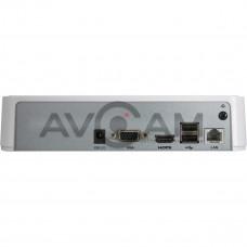Сетевой 4-канальный Видеорегистратор HiWatch DS-N204(B)