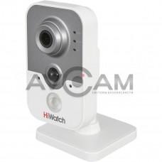 Внутренняя компактная IP видеокамера с Wi-Fi HiWatch DS-I214W