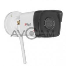 Уличная цилиндрическая IP видеокамера с Wi-Fi HiWatch DS-I250W(B)