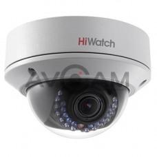 Внутренняя купольная IP видеокамера с Wi-Fi HiWatch DS-I252