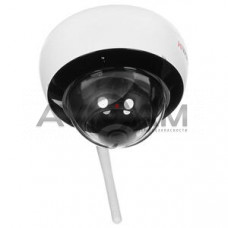 Внутренняя купольная IP видеокамера с Wi-Fi HiWatch DS-I252W(B)