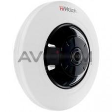 Внутренняя купольная панорамная IP видеокамера с Wi-Fi HiWatch DS-I351