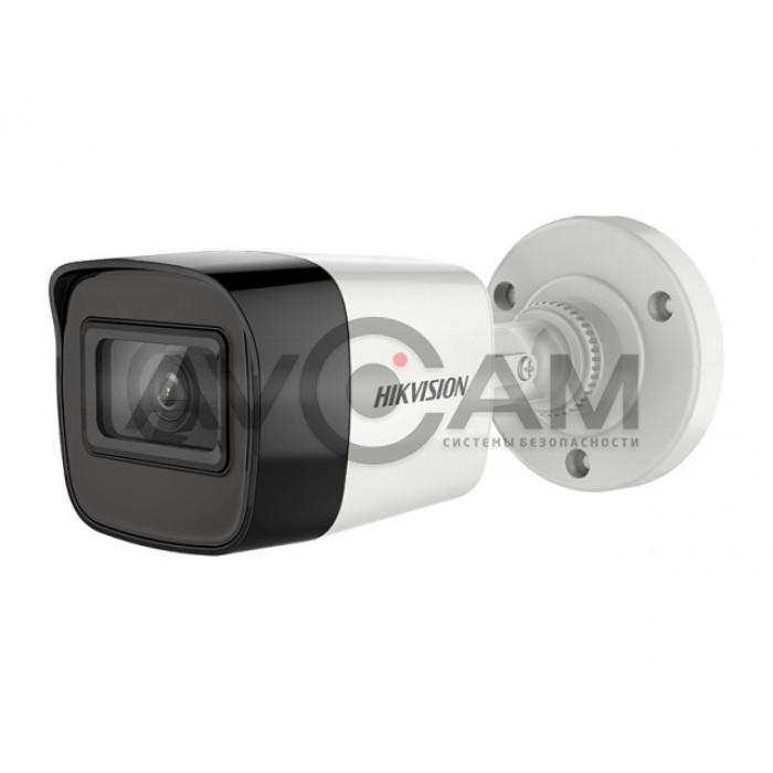 Уличная HD-TVI видеокамера с EXIR подсветкой до 30 м  Hikvision DS-2CE16D3T-ITF