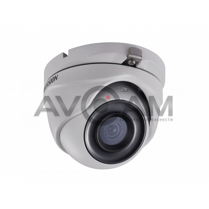 Купольная HD-TVI видеокамера c EXIR подсветкой до 30 м  Hikvision DS-2CE76D3T-ITMF