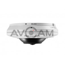Купольная Fisheye IP видеокамера Hikvision DS-2CD2935FWD-I
