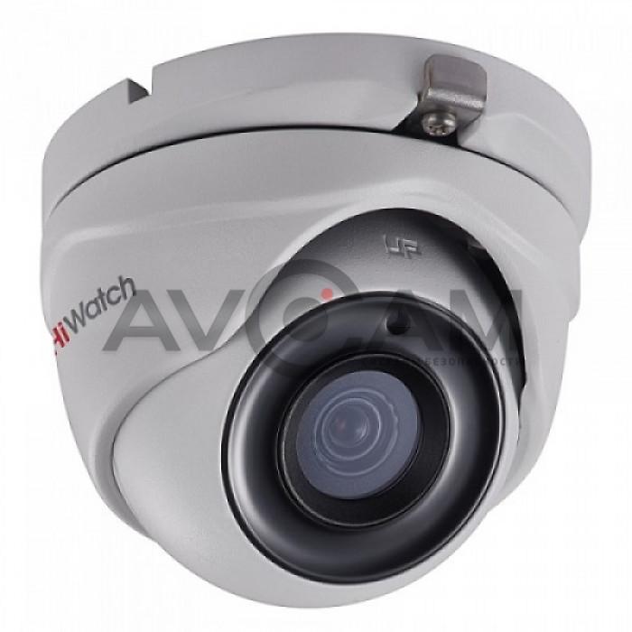Уличная купольная HD-TVI видеокамера HiWatch DS-T503(B)