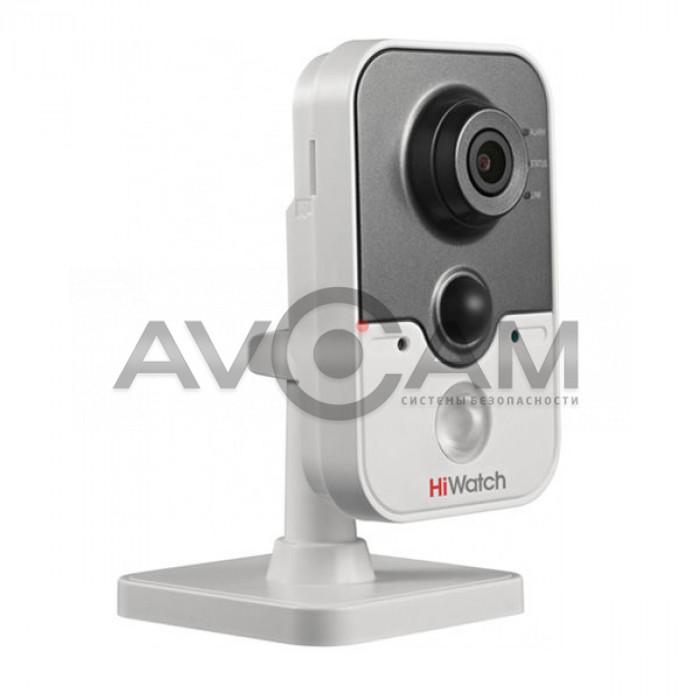 IP видеокамера внутренняя компактная с ИК подсветкой HiWatch DS-I114