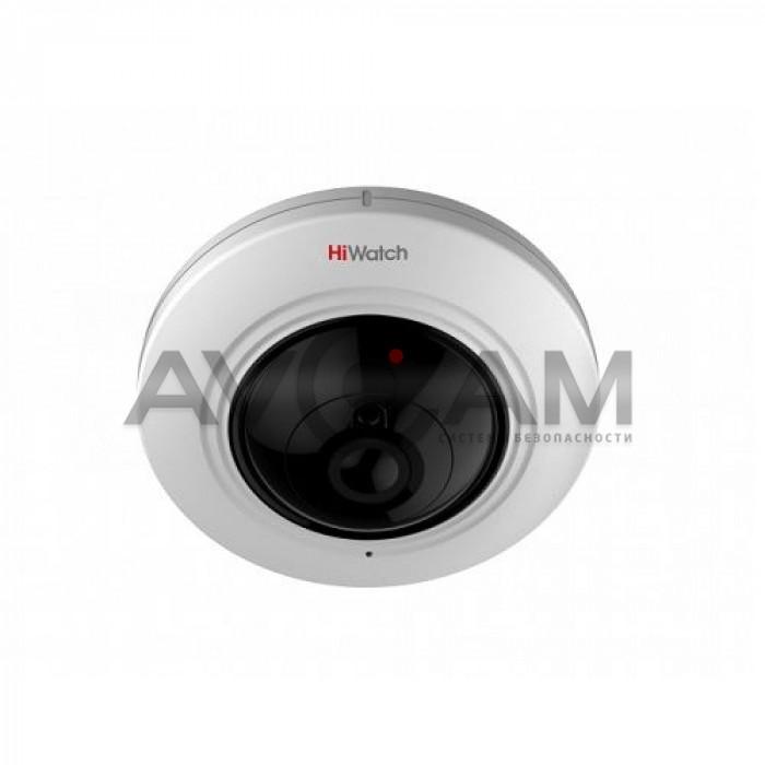 Купольная Fisheye HD-TVI видеокамера HiWatch DS-T501 (1.1mm)