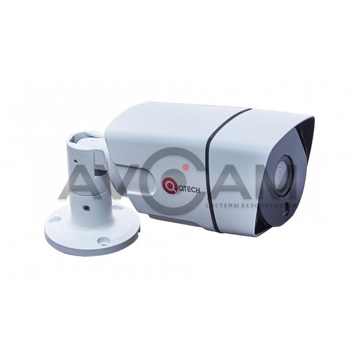 Уличная IP видеокамера  QVC-IPC-201-DC (3.6)