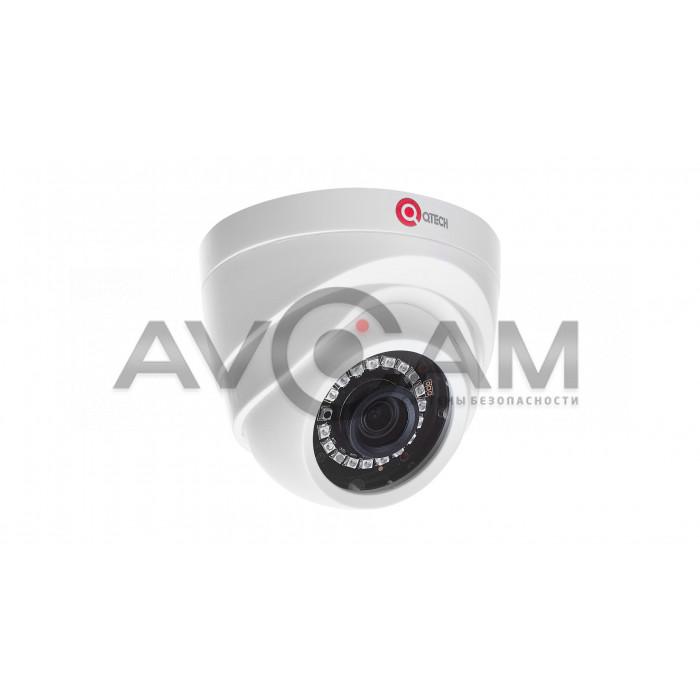 Купольная IP видеокамера  QVC-IPC-202L-DC (3.6)