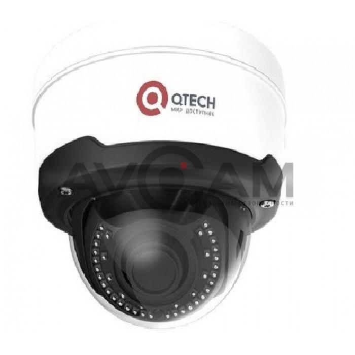 Купольная поворотная IP видеокамера  QVC-IPC-803AVSZ (3.3-12)