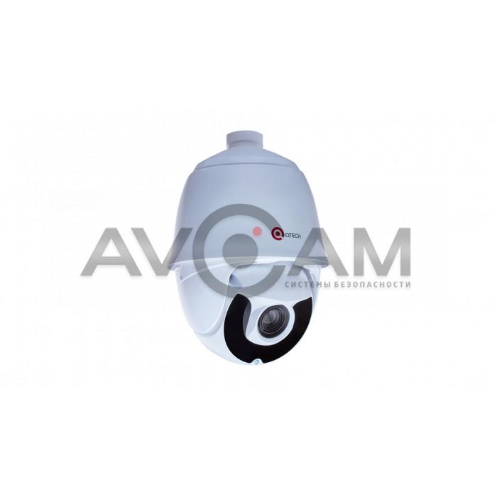 Скоростная поворотная IP видеокамера QVC-IPC-204 (40x)