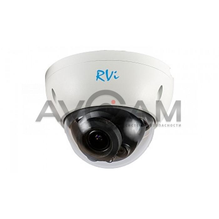Купольная IP видеокамера RVi-IPC31S (2.8-12)